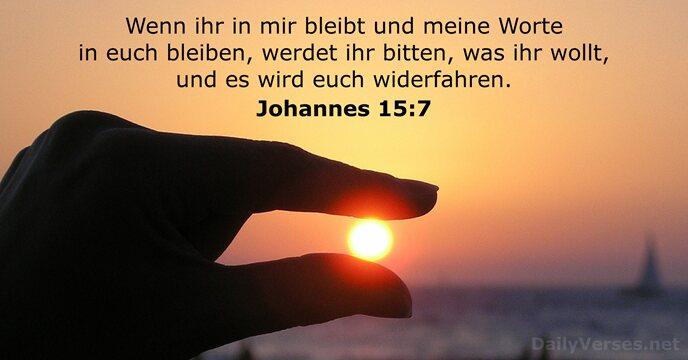 Evangelium Johannes 15 9 12