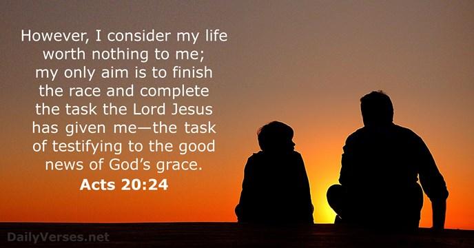 John 15:13 KJV: Greater love hath no