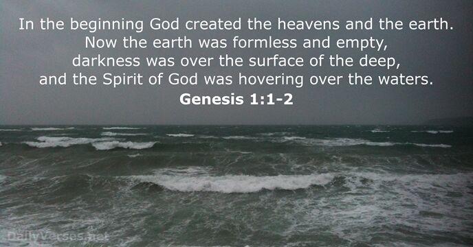 Genesis 1 1 2 bible verse of the day dailyverses net
