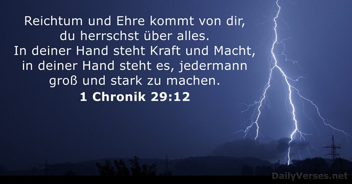 1-chronik 29:12