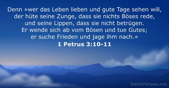 115 Bibelverse über Das Leben Dailyversesnet