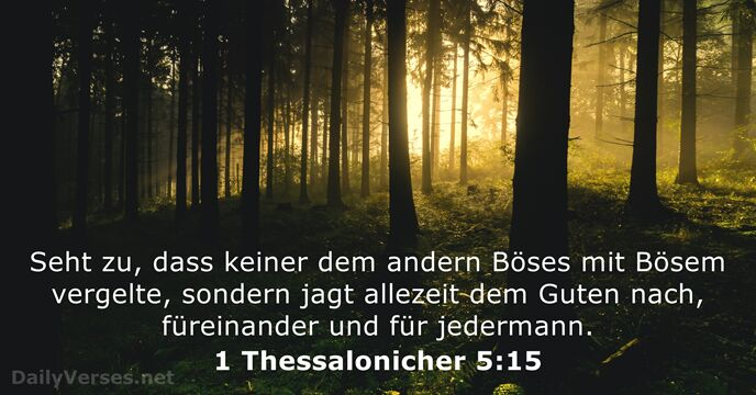 1 Thessalonicher 5:15