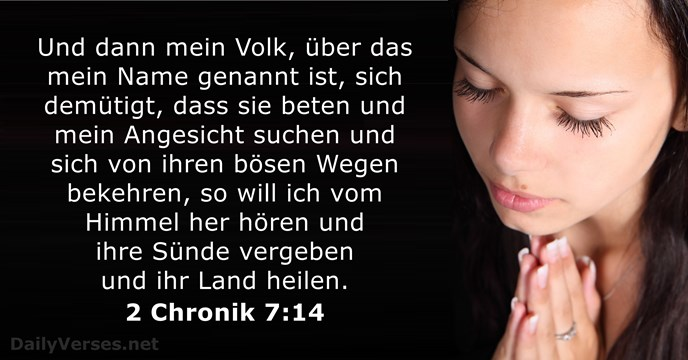 2 Chronik 7:14