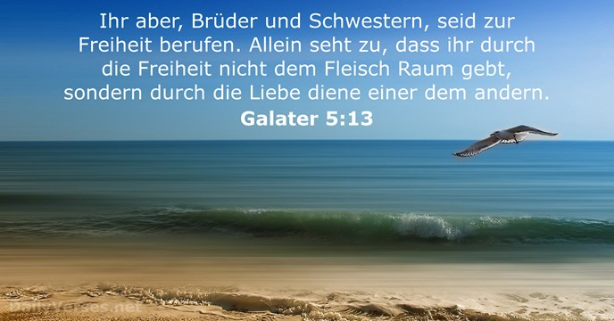 Galater 5:13