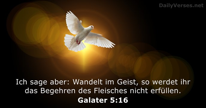 Galater 5:16