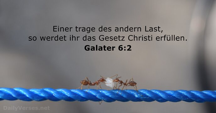 Galater 6:2