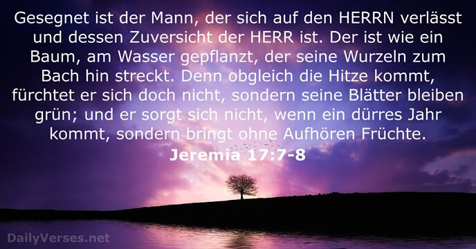 75 Bibelverse über den Segen - DailyVerses.net