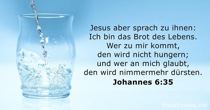 Johannes 6:35