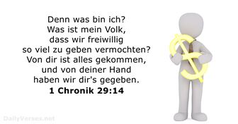 1-chronik 29:14