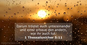 1 Thessalonicher 5:11