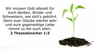 2 Thessalonicher 1:3