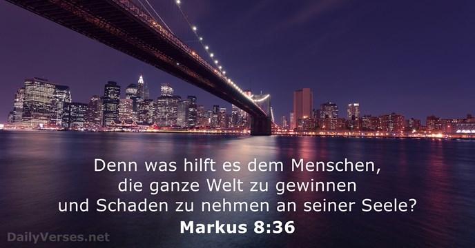 Markus 8 36