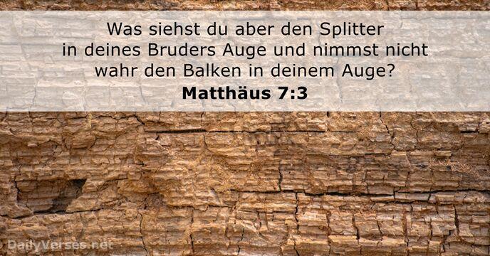 Matthäus 5 7