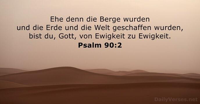Psalm Schöpfung