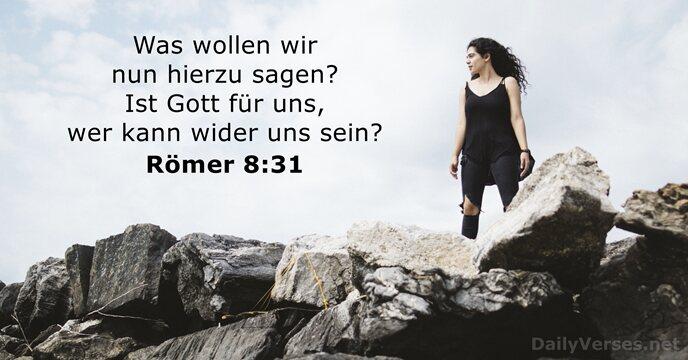 Römer 8 31 39