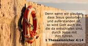 1 Thessalonicher 4:14