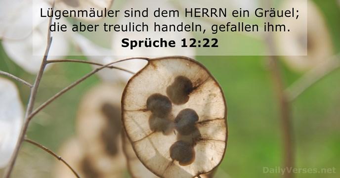 9 Januar 2020 Bibelvers Des Tages Sprüche 1222