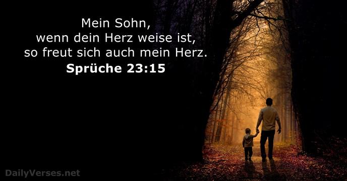 Sprüche 2315 Bibelvers Des Tages Dailyversesnet