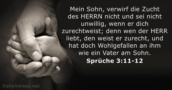 sprüche 3 Sprüche 3:11 12   Bibelvers des Tages   DailyVerses.net sprüche 3