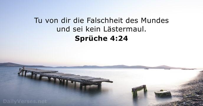 5 März 2018 Bibelvers Des Tages Sprüche 4 24 Dailyverses Net