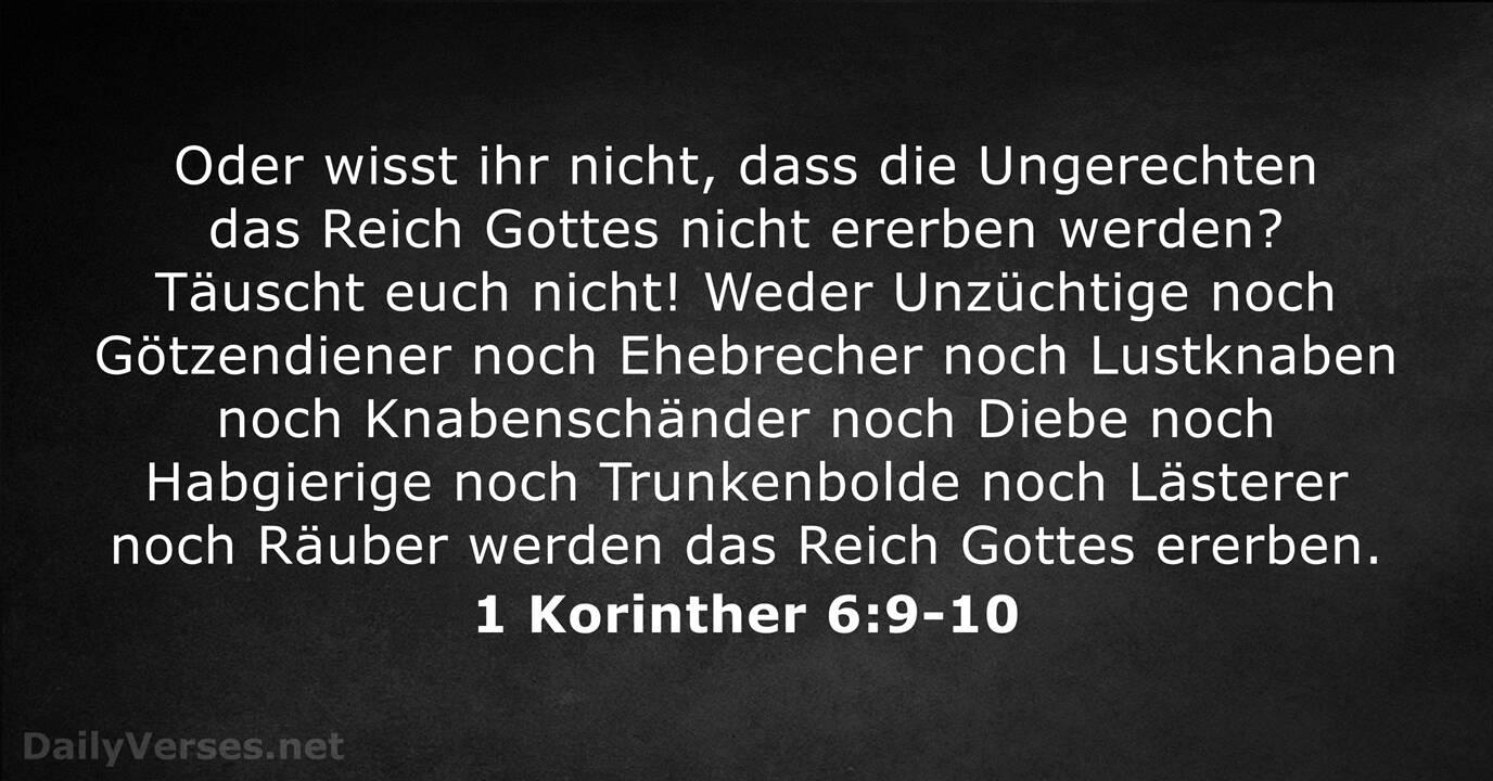 Schöne Bibelstellen