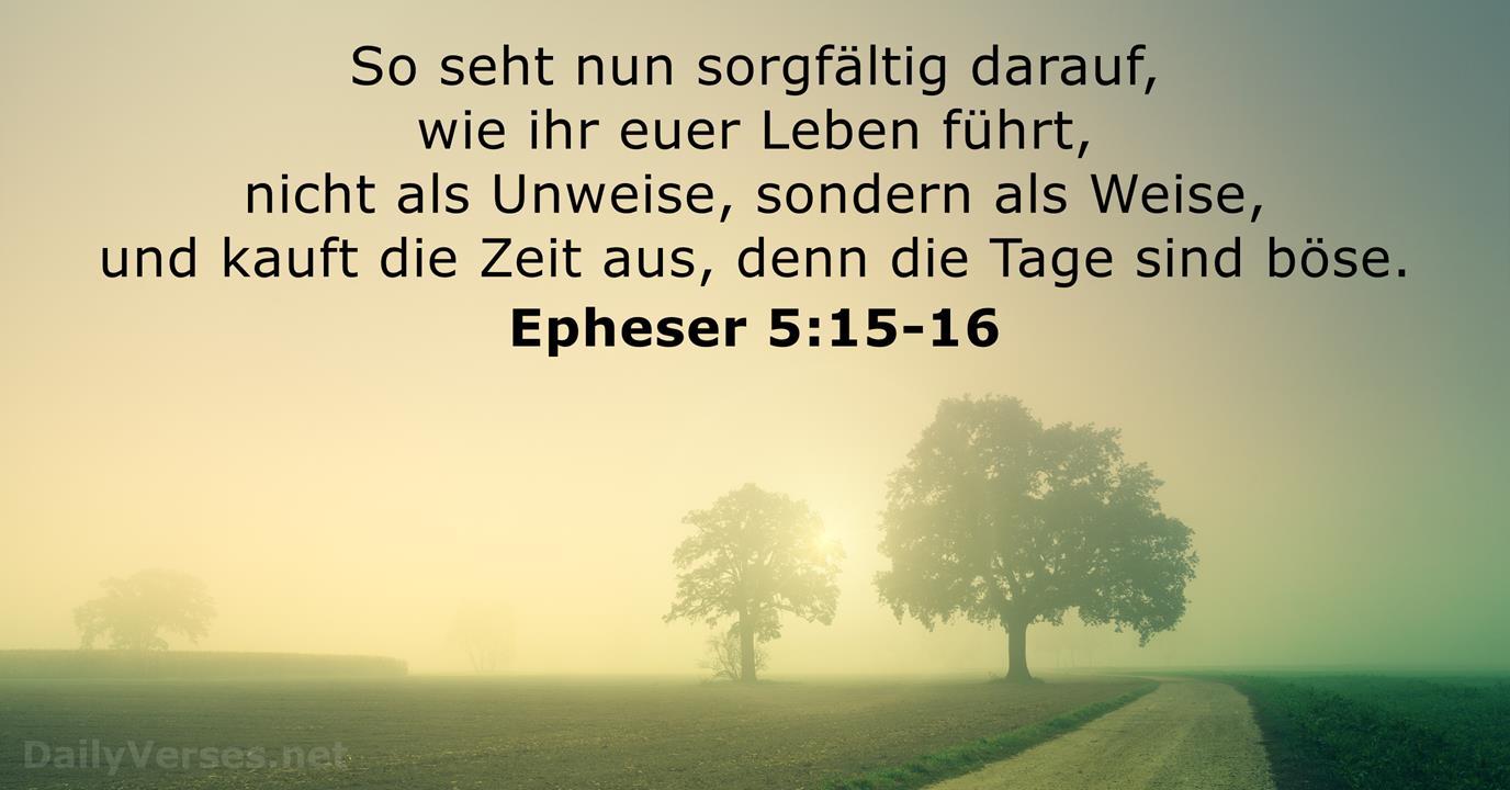 Bibelverse Des Tages