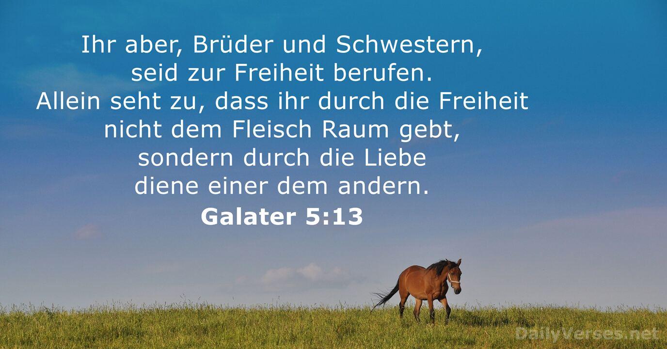 Galater 5 13