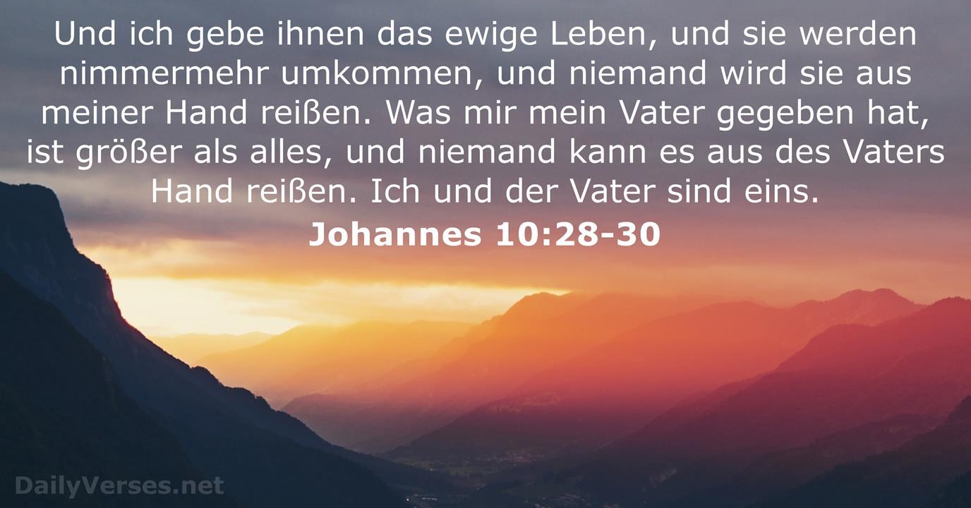 Ewiges Leben Bibel