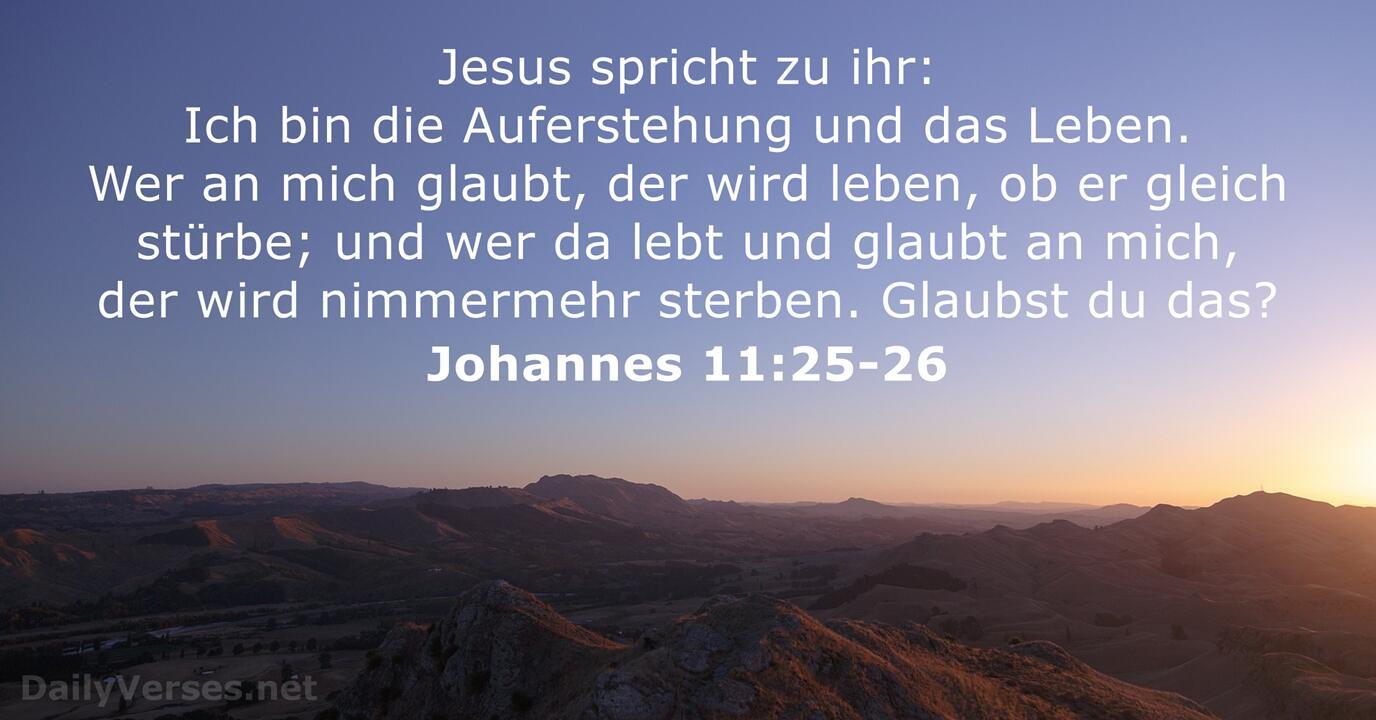 Bibelzitate Tod