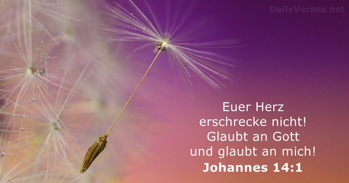 Johannes 14 1