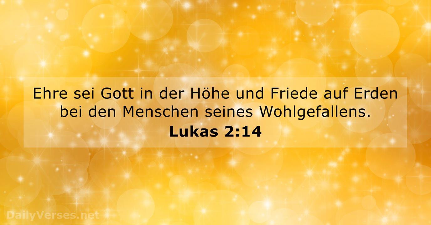 Lukas 2 14