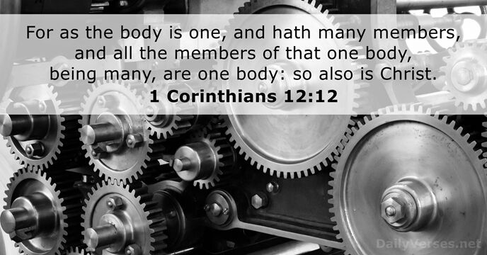 1 Corinthians 12:12
