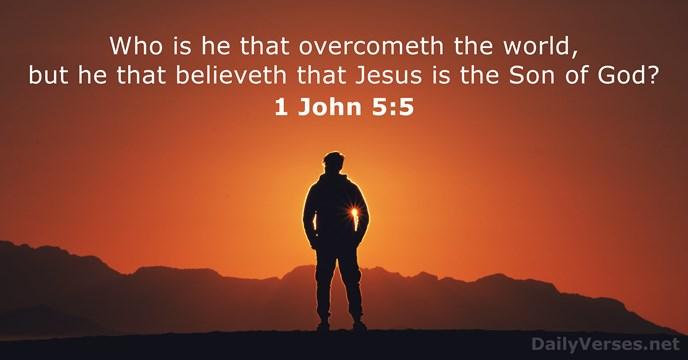 1 John 5:5