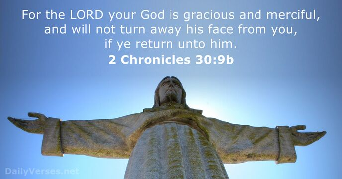 2 Chronicles 30:9b