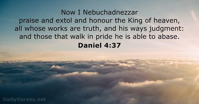 Daniel 4:37