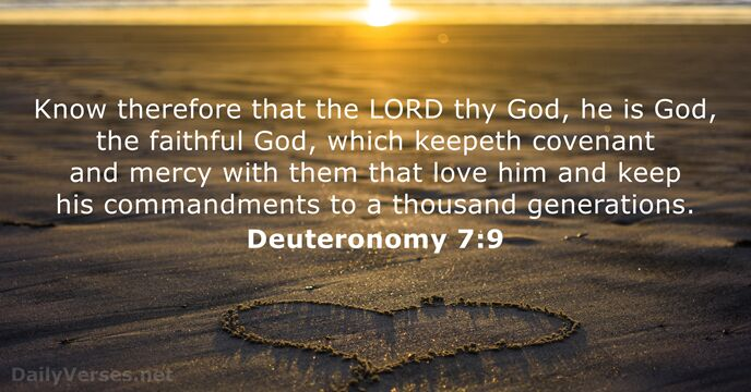12 Bible Verses about the Covenant - KJV - DailyVerses net