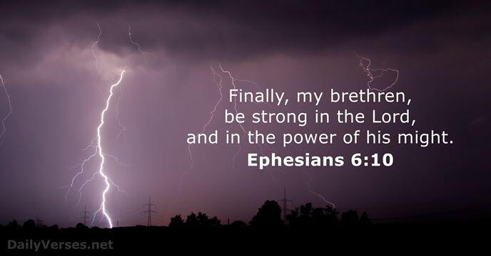 Ephesians 6:10