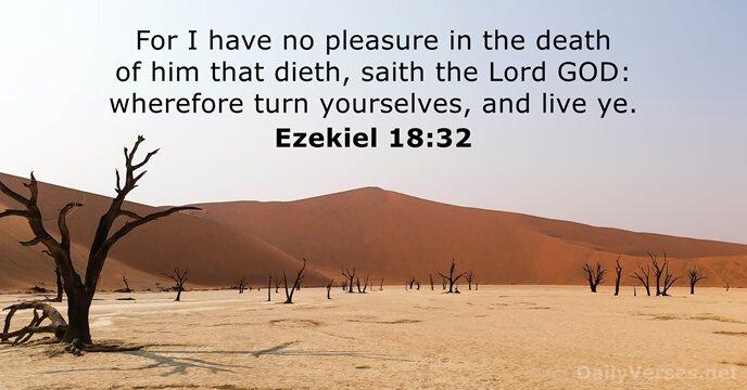 Ezekiel 18:32