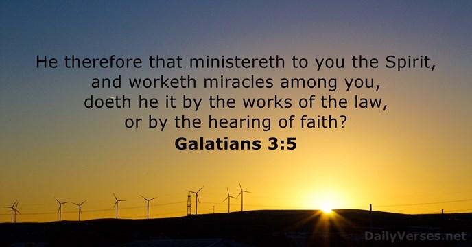 Galatians 3:5
