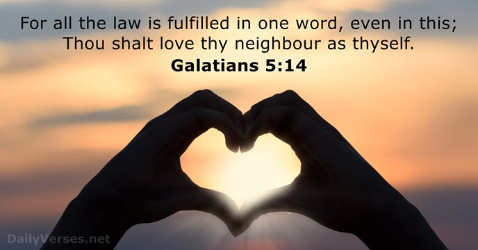 Galatians 5:14
