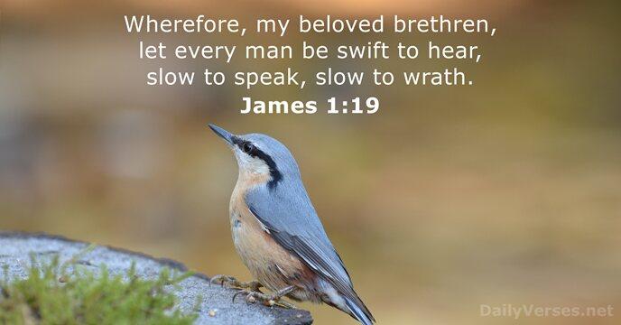 James 1:19