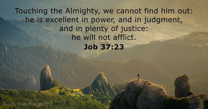 Job 37:23