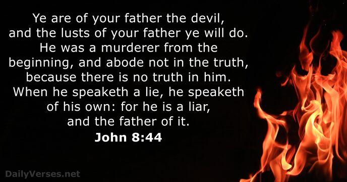 John 8:44