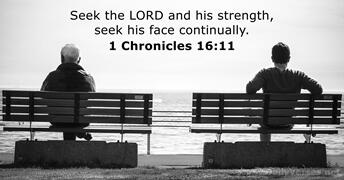 1 Chronicles 16:11