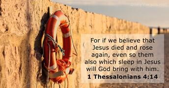1 Thessalonians 4:14