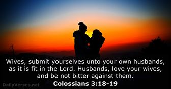 Colossians 3:18-19