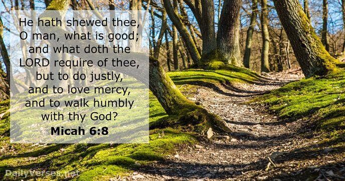 """Image result for micah 6:8 kjv"""""""