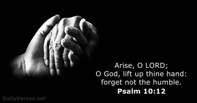 Psalm 10:12