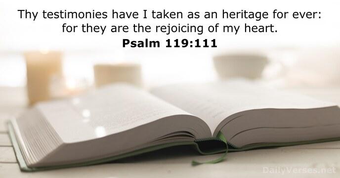 Psalm 119:111