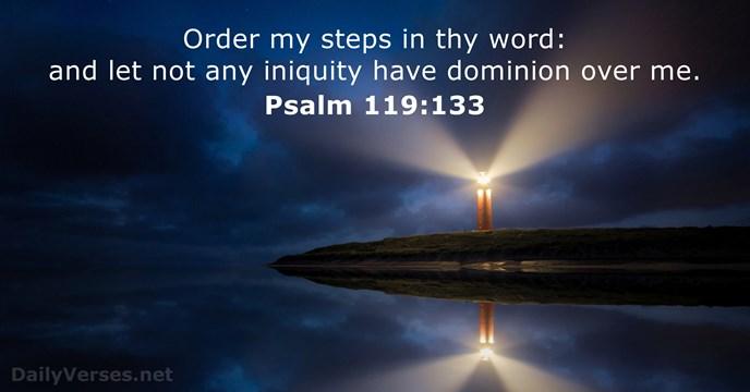 Psalm 119:133